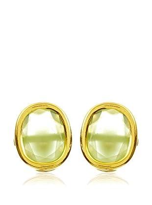 My Silver Pendientes luxuriest verde