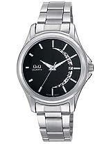 Q Q Silver Metal Men Watch 100A436 202Y