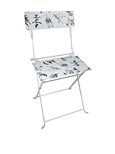 Esschert Design Herb Print Bistro Chair