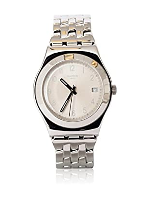 Swatch Quarzuhr Woman FOLLOW WAYS CREAM YLS441G 33.0 mm