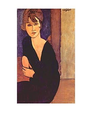 Legendarte Leinwandbild Ritratto Di Madame Reynouard di Amedeo Modigliani
