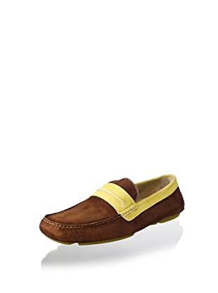 Donald J Pliner Men's Vergil Loafer (Tan/Sun)