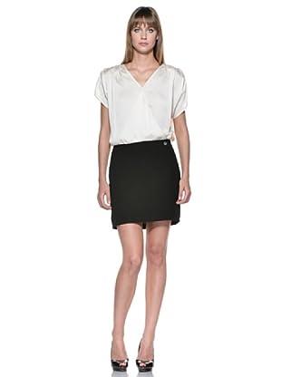 Fairly Vestido (Crema/Negro)