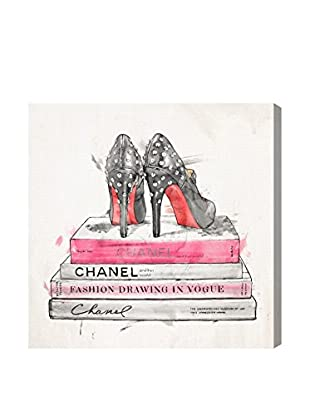 Oliver Gal Spiked Up Pumps Canvas Art