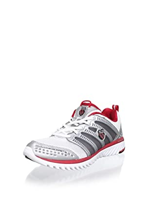 K-SWISS Men's Blade-Light Running Shoe (White/Silver/True Red)