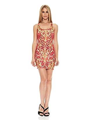 Barbarella Vestido Carolane (Coral)