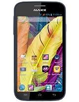 Maxx AX51 Inch-3G 4 GB Dual Core Smart Phone (Navy blue)