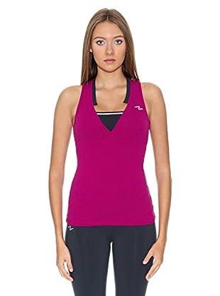 Naffta Camiseta Active / Gym (Morado / Gris)