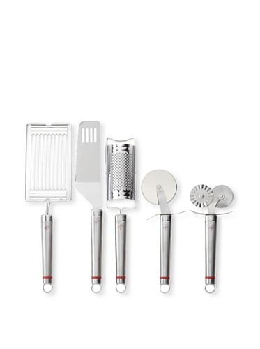 Art & Cuisine 5-Piece Bundle Set of Utensils (Stainless Steel)
