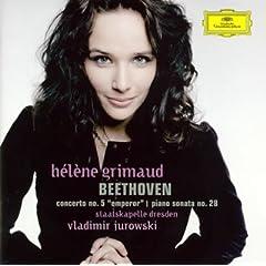 グリモー独奏 べートーヴェン ピアノ協奏曲第5番の商品写真