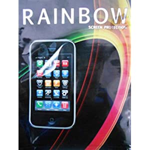 Rainbow Clear Screen Guard/Protector For Samsung C3222 CHAT 322