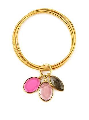 Zariin Purple & Pink An Ode To Beauty Bracelet