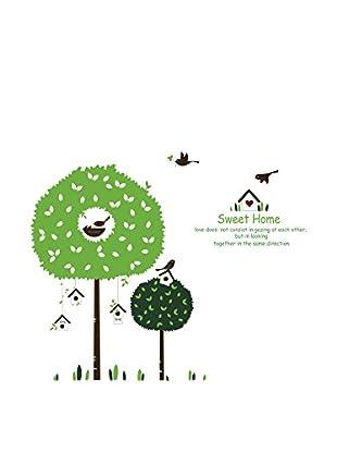 LO+DEMODA Wandtattoo Tree House