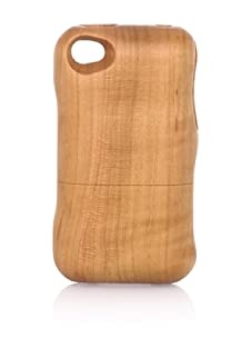 Real Wood iPhone 4/4S Case, Plain, Cherry
