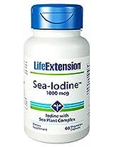 Life Extension Sea-Iodine Capsules, 1000 mcg, 60 Count
