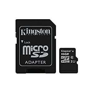 Kingston 16GB Micro SD Class 10 Memory Card