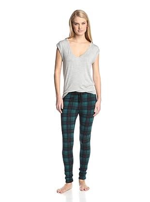 40 Winks Women's 2-Piece Pajama Set (Frances Bean)