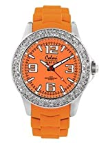 Colori Analog Orange Dial Women's Watch - 5-COL122
