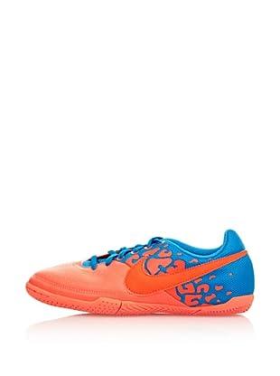 Nike Botas Fútbol Jr Nike Elastico Ii (Naranja / Azul)