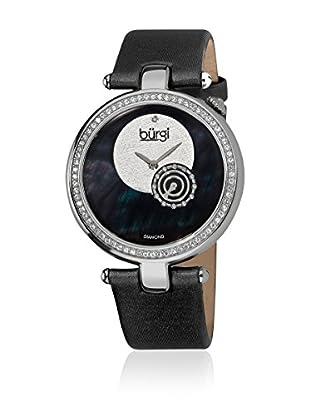 Bürgi Uhr mit Schweizer Quarzuhrwerk BUR042BK schwarz 40  mm