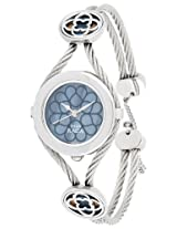 Titan Raga Analog Blue Dial Women's Watch - NE9936SM01
