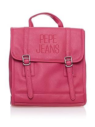 Pepe Jeans Mochila Embroidery Fucsia