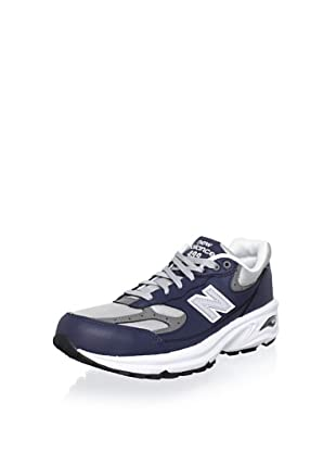 New Balance Men's ML499 Running Shoe (Navy/Grey)