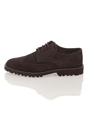 British Passport Zapatos Derby (Marrón oscuro)