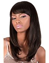Motown Tress Virgin Indian Remy Wig Hir Remi (2 Dark Brown)