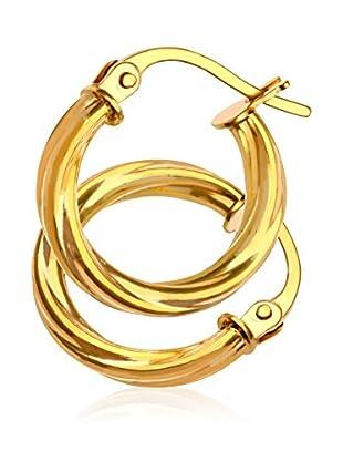 Revoni Pendientes  Oro Amarillo