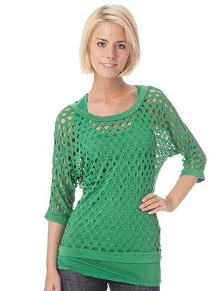 Bleifrei Camiseta Calado (Verde)