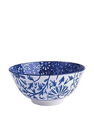 Molecuisine Schüsselchen 6er Set Oriented Flowers blau