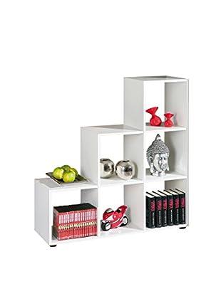 Links 13500200 Cadore - Organizador (6 Cajones), color blanco