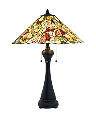 Legacy Lighting Alessandra Table Lamp, Crimson Noir