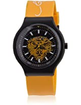 Ne-Yw Yellow/Black Analog Watch