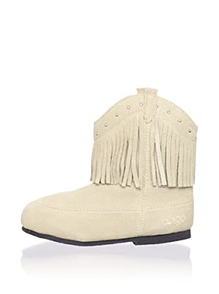 Dingo Kid's Soft Boot with Fringe (Off white)