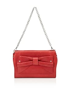 Nanette Lepore Women's Bow Clutch (Red)
