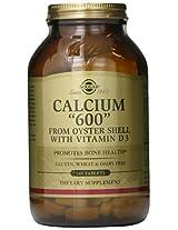 Solgar - Calcium 600, 240 tablets