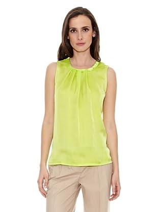 Cortefiel Top Liso (Verde)