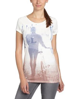 Lee Camiseta Photo (Blanco)