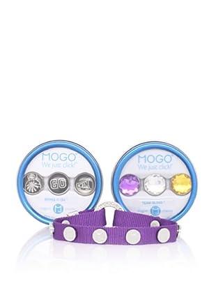 MOGO Design Purple Sports Charm & Band Bundle