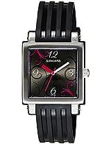 Sonata Fashion Fibre Analog Black Dial Women's Watch - NF8990PP03J