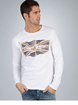 Pepe Jeans London Longsleeve Patriot weiß XL