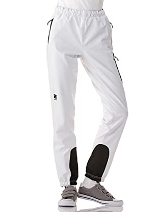 Sportful Pantalón Crosscountry St. Moritz (Blanco / Negro)