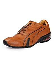 Red Chief Men's Elephant Tan Leather Casual Shoes - B00MANHVI4