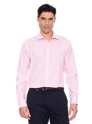 Pedro Del Hierro Camisa Fil A Fil (Rosa)