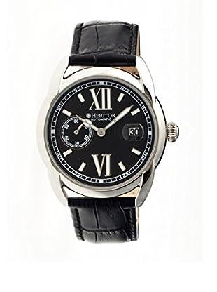 Heritor Automatic Uhr Burnell Herhr1803 schwarz 47  mm