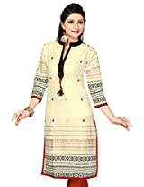 Khadi long cotton kurtis(Size : XX-Large)