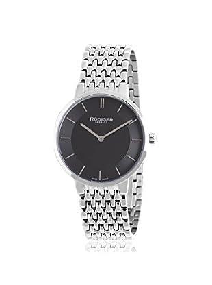 Rudiger Men's R2400-04-007B Kassel Analog Display Quartz Silver Watch