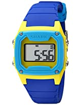Freestyle Unisex 101806 Shark Classic Digital Yellow Blue Case Watch
